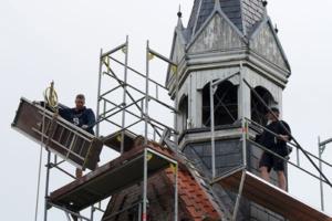 Schäden an den Kirchen |Eiderstedter Schutzengel