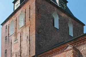 Kirche Garding-Turmschäden