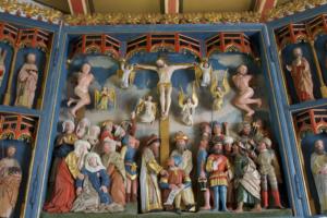 Kirche Kating Altar