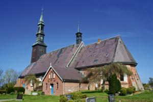 Kirche Tating Dach